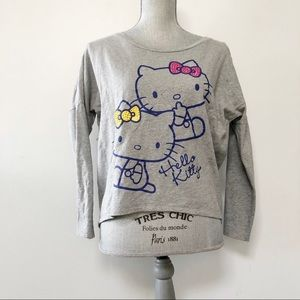 Hello Kitty sweatshirt with studded bows